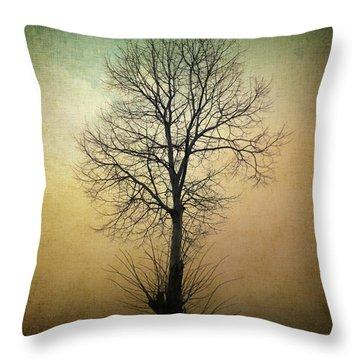 Waltz Of A Tree Throw Pillow