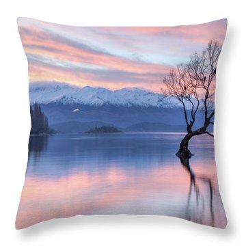Wanaka Sunset Throw Pillow