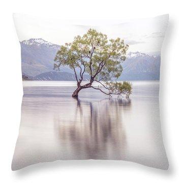 Wanaka Tree Throw Pillow