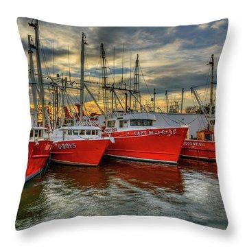 Wanchese Fleet Hampton Throw Pillow
