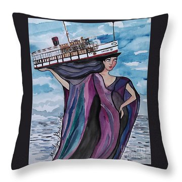 Wanda IIi Throw Pillow