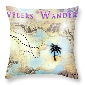 Wanderart Throw Pillow