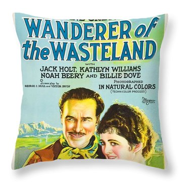 Wanderer Of The Wasteland 1924 Throw Pillow