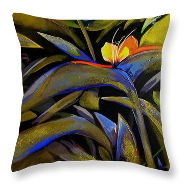 Wandering In The Sunrise Throw Pillow