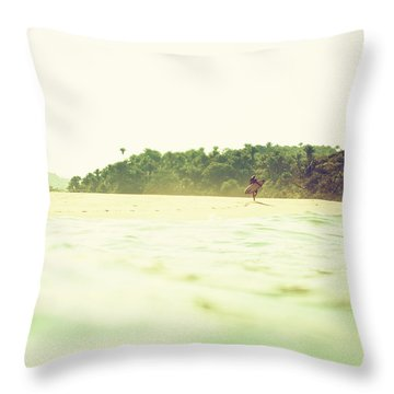 Throw Pillow featuring the photograph Wandering by Nik West