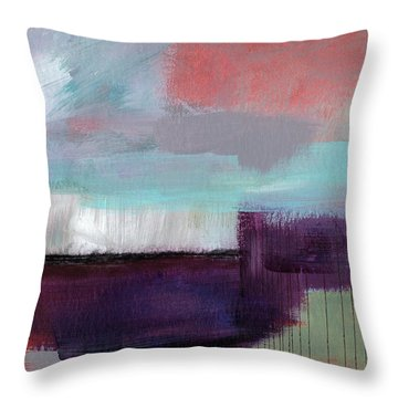 Wanderlust 22- Art By Linda Woods Throw Pillow