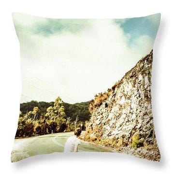 Wanderlust Southwest Tasmania Throw Pillow