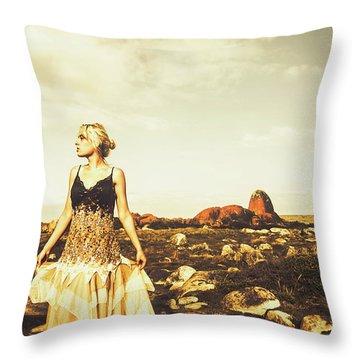 Wanderlust Tasmania Throw Pillow