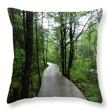 Wang Lang Nature Reserve, China Throw Pillow