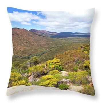 Throw Pillow featuring the photograph Wangara Hill Flinders Ranges South Australia by Bill Robinson