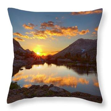 Waning Light Throw Pillow