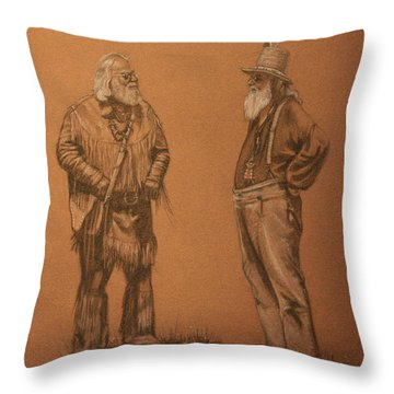 Wanna Buy A Hat? Throw Pillow