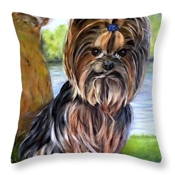 Wanna Play? Throw Pillow