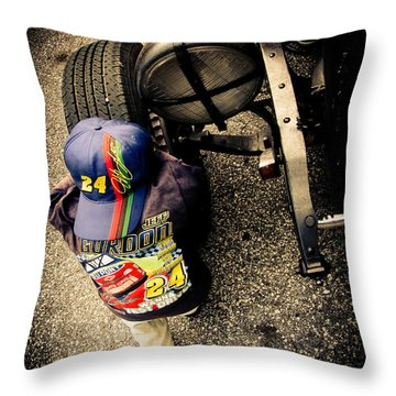Wanna Test Drive? Throw Pillow by Jessica Brawley