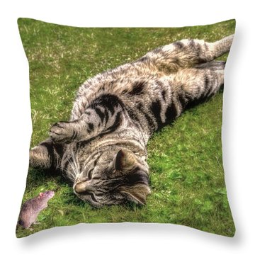 Want To Play Throw Pillow