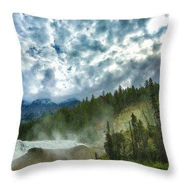 Wapta Falls 1 Throw Pillow