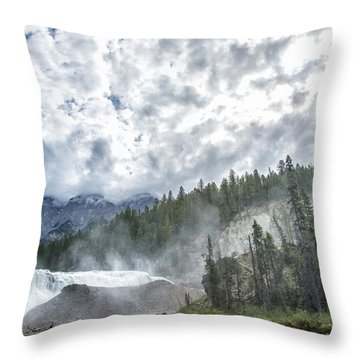 Wapta Falls 2 Throw Pillow