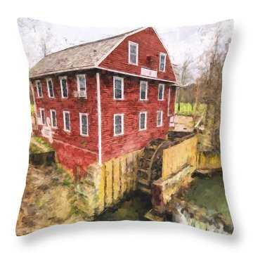 War Eagle Mill Throw Pillow