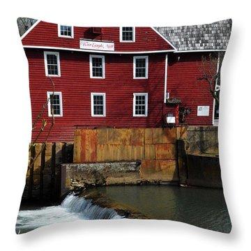 War Eagle Mill Throw Pillow