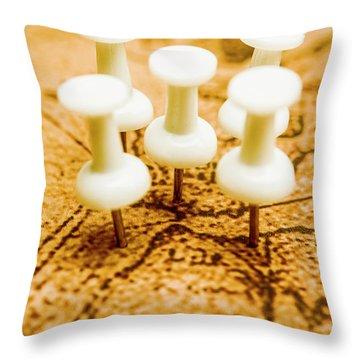 War Game Tactics Throw Pillow