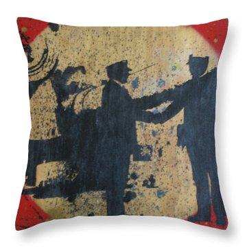 War Mongers Throw Pillow