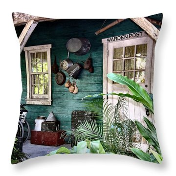 Warden Post Throw Pillow