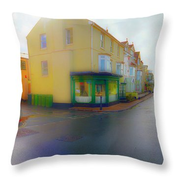 Warfleet Throw Pillow