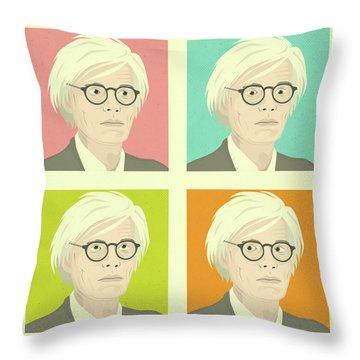 Warhol Throw Pillows