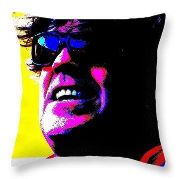 Warhol Robbie Throw Pillow