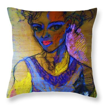 Warhol Simone Throw Pillow