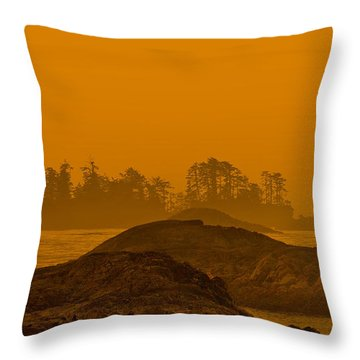 Warm Glow Throw Pillow