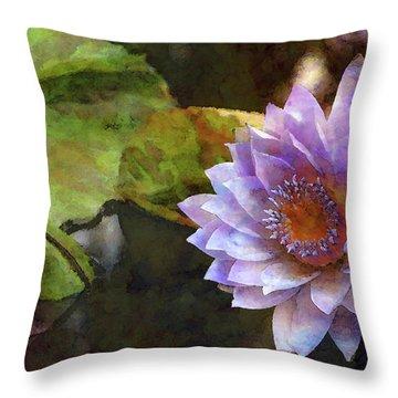Warm Heart 4726 Idp_2 Throw Pillow