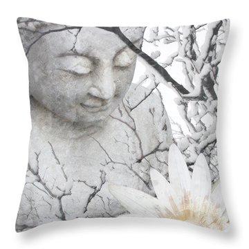 Warm Winter's Moment Throw Pillow