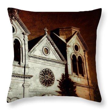 Warming Faith Throw Pillow