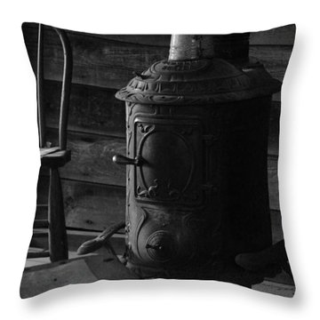 Warming Place Throw Pillow