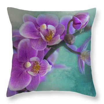 Throw Pillow featuring the photograph Warms The Heart by Marvin Spates