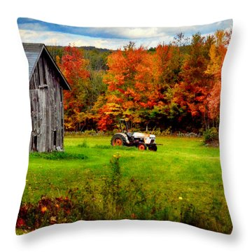 Warner Farm Throw Pillow