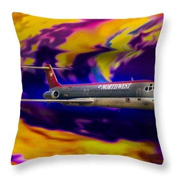 Warp 7 Throw Pillow