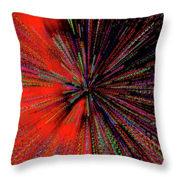 Throw Pillow featuring the photograph Warp Drive Mr Scott by Tony Beck