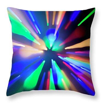 Warp Factor 1 Throw Pillow