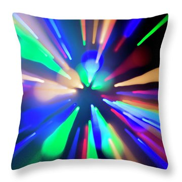 Warp Factor 1 Throw Pillow