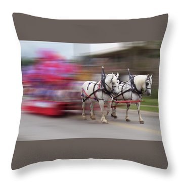 Warp Speed Throw Pillow by David and Lynn Keller