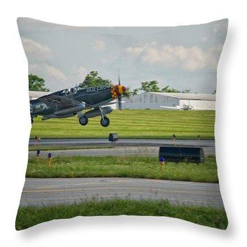Warplane Throw Pillow