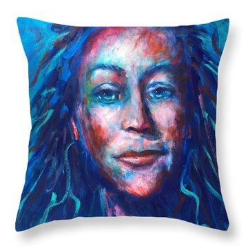 Warrior Goddess Throw Pillow