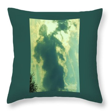 Warrior Hunter Throw Pillow by Robin Coaker