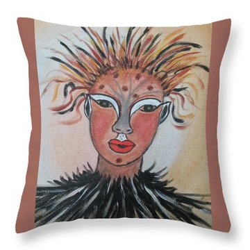 Warrior Woman  #3 Throw Pillow