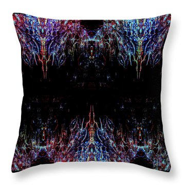 Warships Throw Pillow by Samantha Thome