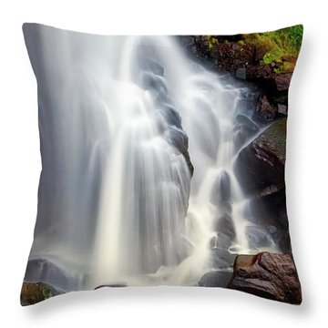 Wash Over Me Throw Pillow by Rick Furmanek