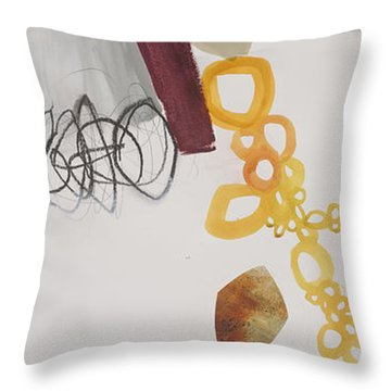 Washed Up # 7 Throw Pillow