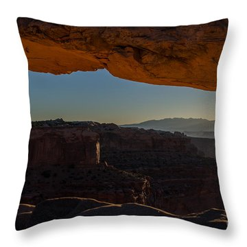 Washer Woman Throw Pillow